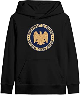 Unisex Seal-of-The-National-Guard-Bureau- Hooded Sweatshirt Classic Hoodie with Pocket