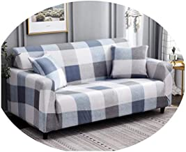 Stretch Sofa Cover Sofa Slipcovers Sectional Couch Cover Sofa Set Sofa Covers for Living Room Housse Canape 1/2/3/4 Seater Color 15 235-300cm