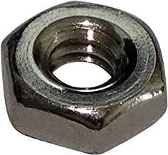 AERZETIX 100x Tuercas hexagonales M2 4mm H1.6mm DIN934 laton C19153
