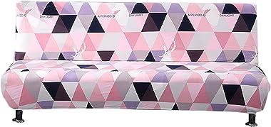 Zarome Housse Clic Clac Elastique Imprimé Tout Compris Housse Canapé Salon Couverture de Imprimé Élastique Universel Décorati