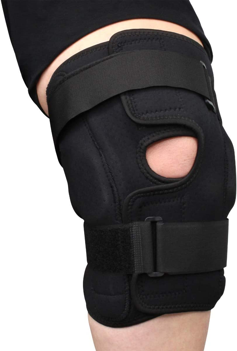 specialty shop Plus Size Obesity Internal Deluxe Knee Hinged Brace-Compres Pain New mail order