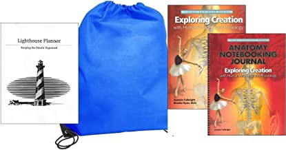 Exploring Creation with Human Anatomy and Physiology w/ Notebooking Journal homeschool kit in a bag