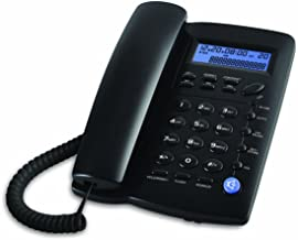 Ornin Y043 Corded Telephone with Speaker, Display, Basic Calculater and Caller ID (Black) photo