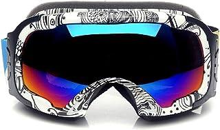 Yxx max Gafa Deportiva Gafas de esquí Gafas de esquí esféricas antivaho Dobles para jóvenes Gafas de montañismo
