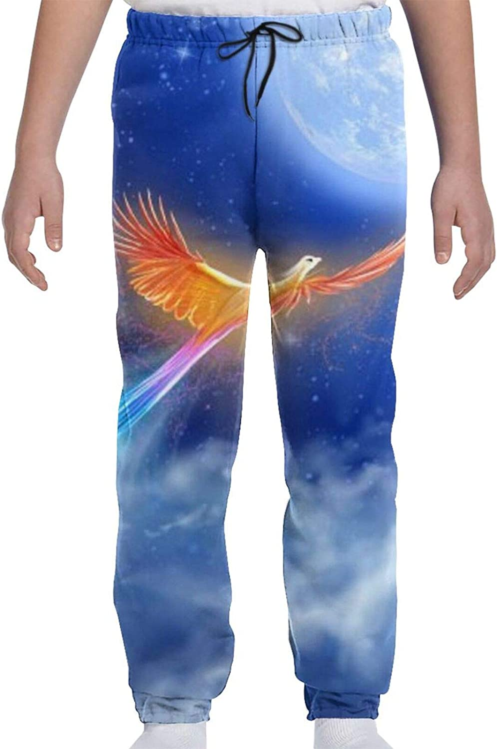 Oomato Moon Phoenix Youth Sweatpants Trousers Print 3D Teens A surprise price is realized Bo Award