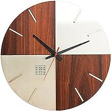 LEON (レオン) 掛け時計 デザイナーズクロック インテリア おしゃれ オシャレ かわいい 高級 ステンレス 木目 デザイン クロック O'Clock wood