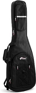 Tiger Music Full Size Electric Guitar Gig Bag - Premier Padded Carry Case, Black