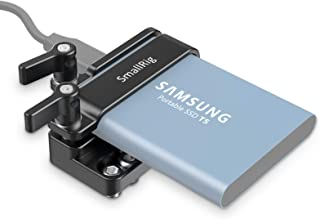 SMALLRIG Mount Bracket SSD Holder for Samsung T5 SSD with M4 Thread – 2245