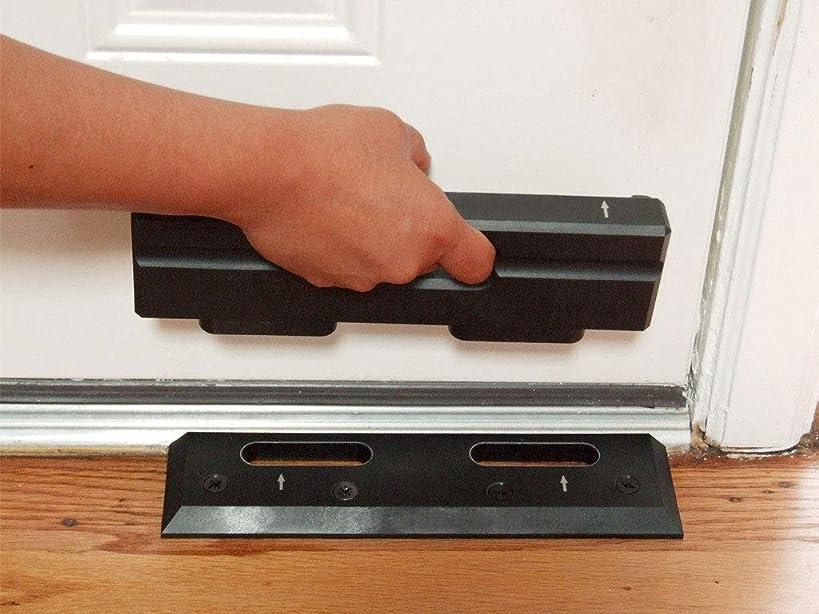Security Door Brace | Door Barricade | Prevents Home Invasions & Burglaries | OnGARD Withstands up to 3000 Lbs of Violent Force.