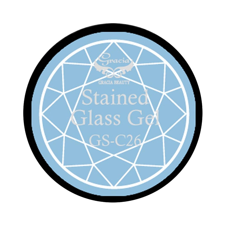 予算宗教思われるグラシア ジェルネイル ステンドグラスジェル GSM-C26 3g  クリア UV/LED対応 カラージェル ソークオフジェル ガラスのような透明感