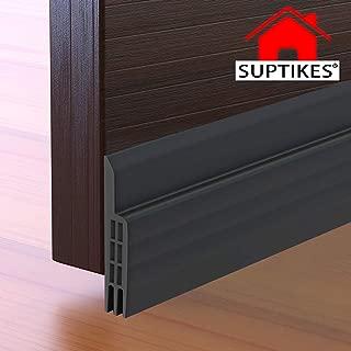 Door Draft Stopper Under Door Seal for Exterior/Interior Doors, Door Sweep Strip Under Door Draft Blocker, Soundproof Door Bottom Weather Stripping, 2