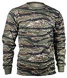 Rothco Long Sleeve Camo T-Shirt, Tiger Stripe...