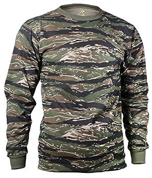 Rothco Long Sleeve T-Shirt/Tiger Stripe X-Large
