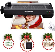 13 inches Laminator, Blusmart Multiple Function A3 Laminator with 25 Laminating Pouches,..