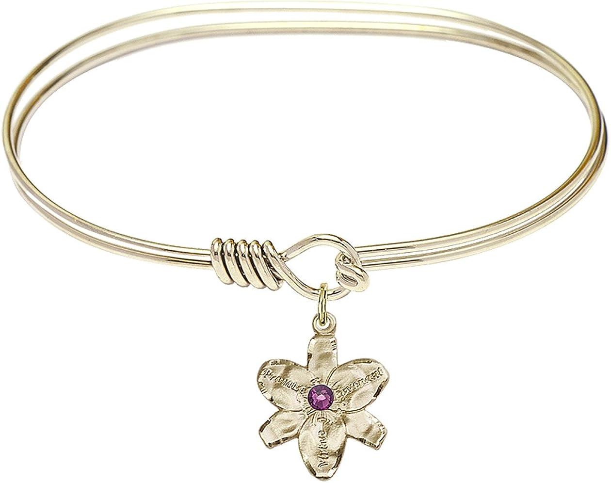 DiamondJewelryNY Eye Hook Bangle Bracelet a NEW Chastity San Antonio Mall Charm. with