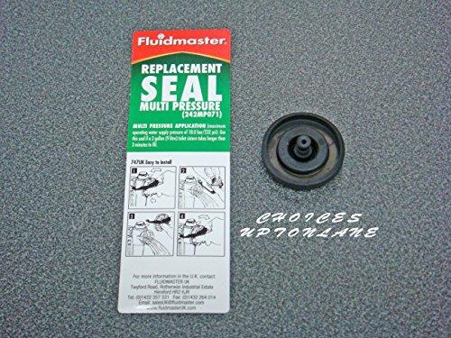 Fluidmaster 242MP071 - Arandela de recambio para flotador de válvula, repuesto de membrana de llenado de cisterna