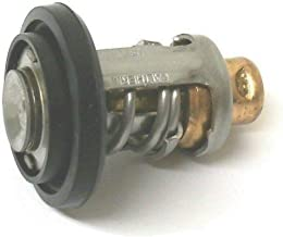GLM Stainless Steel Thermostat for Yamaha 2 Stroke V4 & V6 115, 130, 150, 175, 200, 225, 250 Hp, Replaces 6E5-12411-30-00, 18-3540, Read Product Description for Applications Before Ordering