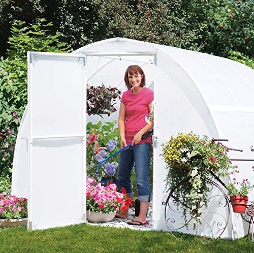 14ft Wide X 25ft Long A/&A Greenhouse White Plastic Film Polyethylene Covering 4 Year 6 Mil