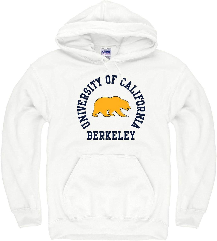 Campus colors Cal golden Bears Adult NCAA Team Spirit Hooded Sweatshirt  White,