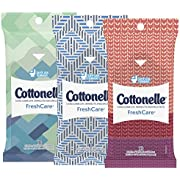 Cottonelle Fresh Care Flushable Wipes - Travel Pack, 10 Wipes