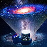 Mokshith Night Lights for Kids Multifunctional Night Light Star Projector Lamp for Decorating Birthdays, Christmas, and Other Parties, Best Gift for a Baby's Bedroom, 5 Sets of Film