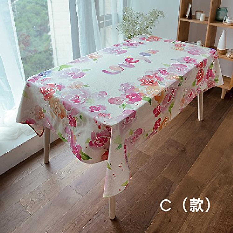 BlauLSS Rainbow Muster Baumwolle und Leinen Tischdecke für Esstisch Kaffee Tabellen Tabelle Tuch, C, 85 x 85 cm. B07CMXS37T Große Auswahl   | Diversified In Packaging