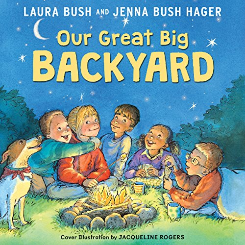 Our Great Big Backyard audiobook cover art