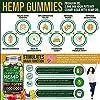 Wellution Hemp Gummies 2,000,000 XXL high Potency - Fruity Gummy Bear with Hemp Oil, Natural Hemp Candy Supplements for Soreness, Stress & Inflammation Relief, Promotes Sleep & Calm Mood #2