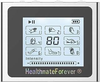 HealthmateForever 8 modos Healthmate Forever electroestimulacion Nts8 () Digital Mini masajeador eléctrico