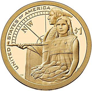 2014 D Position B BU Native Hospitality Sacagawea Native American Dollar Choice Uncirculated US Mint
