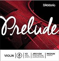 D'Addario ダダリオ バイオリン用 バラ弦 Prelude A線 J812 1/2M Medium Tension 【国内正規品】