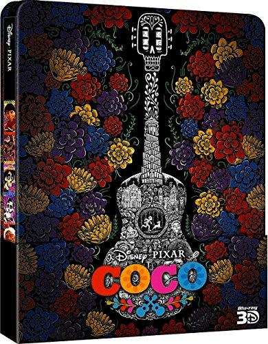 Disney / PIXAR --- COCO --- Limited Steelbook Edition / Blu-ray 3D + Blu-ray + Bonus