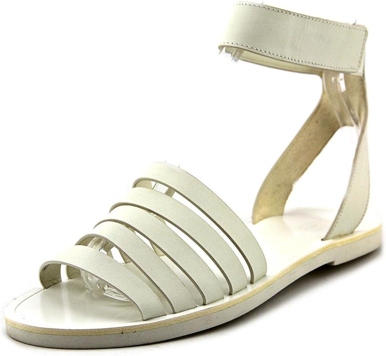 Vince Cassie Open Toe Leather Slingback Sandal