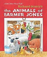 Richard Scarry's The Animals of Farmer Jones (Little Golden Board Book)