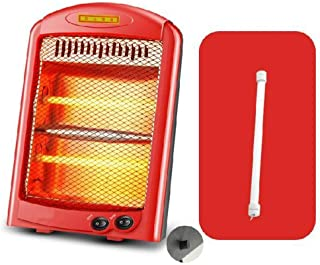 WE&ZHE Portable Heater - Home Bedroom Student Desktop Heater,Infrared Electric Quartz Tower Heater Living Room Space Heating Radiant Fire Space Heaters,C