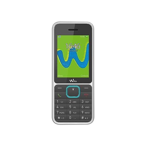 Wiko Riff3 Téléphone portable débloqué (Ecran: 2,4 pouces - 32Mo - Double SIM) Blanc