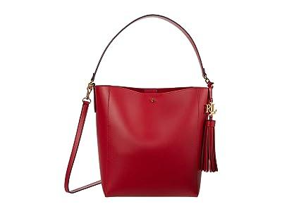 LAUREN Ralph Lauren Adley 25 Crossbody (RL 2000 Red/Lauren Navy) Handbags