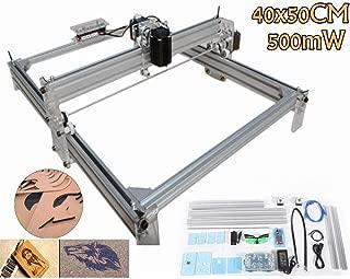 500mW Laser Engraver Wood Logo Marking Engraving Machine 40x50cm DIY Printer Kit
