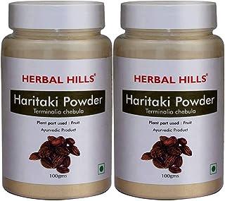 Herbal Hills Haritaki Powder | Haritaki Fruit Powder | Terminalia Chebula | Harad Powder | Harde Powder 100g (Pack of 2)