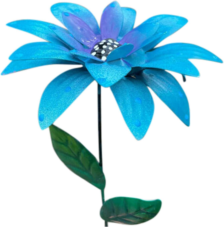 Eki 7PC Metal Flower Stakes Raleigh Mall Decor Art Garden Latest item