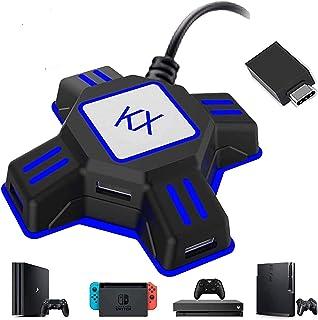 キーボードマウス接続アダプター  ゲームコンバーター マウスコンバーター ゲーミングコントローラー変換 Nintendo Switch/Xbox/PS4/PS3対応 【日本語取扱説明書付き】