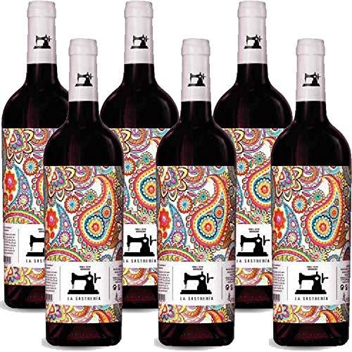 Garnacha Tinta | La Sastrerìa | Vino Rosso Spagnolo | 6 Bottiglie 75Cl | Idea Regalo