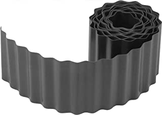 Meister 9957120 Flexible – Anthracite – 9 m de Longueur et 10 cm de Hauteur – en Plastique résistant aux Chocs – Facile à ...
