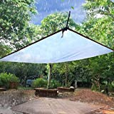 MHBGX Large <span class='highlight'>Heavy</span> <span class='highlight'>Duty</span> <span class='highlight'>Tarpaulin</span>,Tarps,Clear <span class='highlight'>Tarpaulin</span> <span class='highlight'>Transparent</span> Greenhouse Film 2Mx3M Waterproof Plastic Cloth <span class='highlight'>with</span> Metal Ring Eyelet Gardening Outdoor Rain Curtain 100G /M²,Clear,4X5M