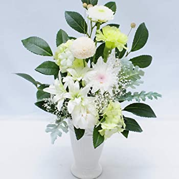 お彼岸 お供え 仏花 お供え プリザーブドフラワー 天 ブリザードフラワー