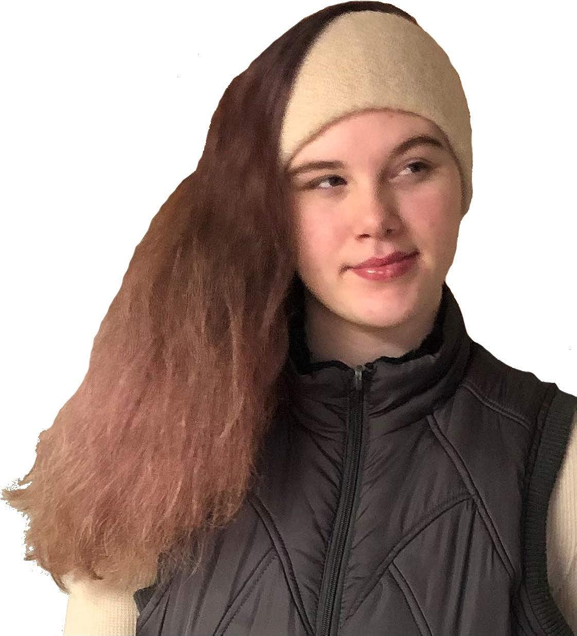 Peruvian Link Alpaca Ear Warmer Headband - Sand
