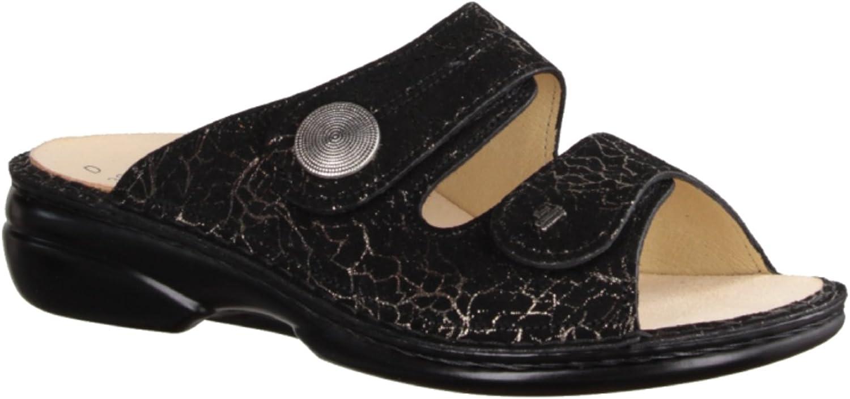 FINNCOMFORT Damen Pantoletten 02550-533168 schwarz schwarz schwarz 162403  05b24f
