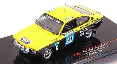 Ixo Model RAC264 Opel Kadett GT/E N.41 RAC 1976 DANIELSSON-SUNDBERG 1:43 Model Compatible con