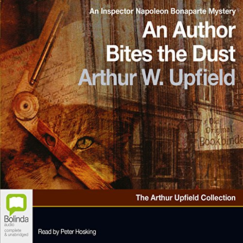 An Author Bites the Dust audiobook cover art
