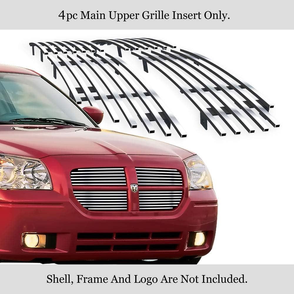 AAL For Dodge Magnum 2005 2006 2007 Upper 4 pcs overlay Billet Grille Insert